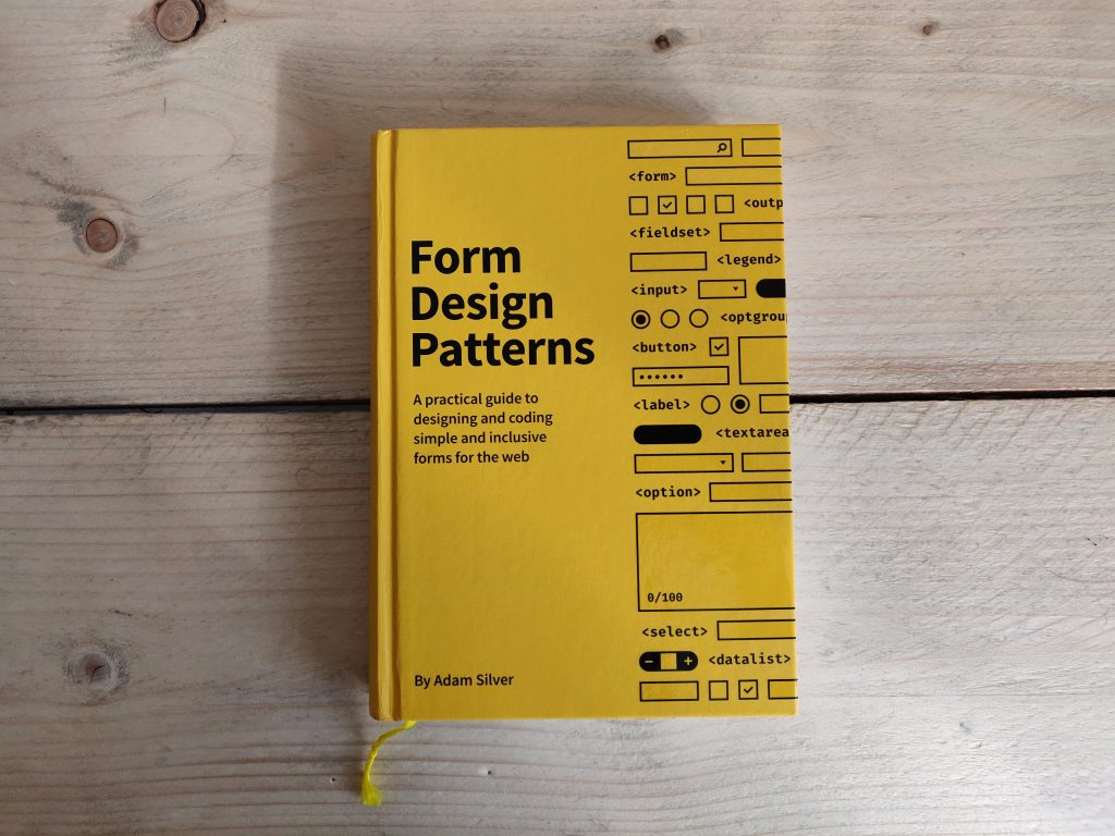 Foto van Form design patterns boek
